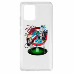 Чохол для Samsung S10 Rick and Morty as Ghostbusters