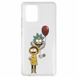 Чехол для Samsung S10 Lite Rick and Morty: It 2