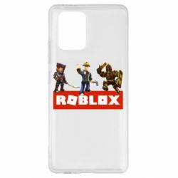 Чехол для Samsung S10 Lite Roblox Heroes