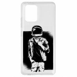 Чехол для Samsung S10 Lite Рок Космонавт