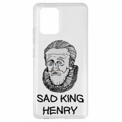 Чехол для Samsung S10 Lite Sad king henry