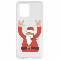 Чохол для Samsung S10 Santa Claus with a tube