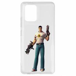 Чехол для Samsung S10 Lite Serious Sam with guns