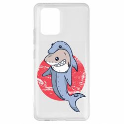 Чехол для Samsung S10 Lite Shark or dolphin