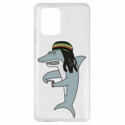 Чохол для Samsung S10 Shark Rastaman