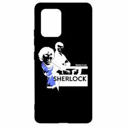 Чехол для Samsung S10 Lite Sherlock (Шерлок Холмс)