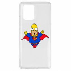 Чехол для Samsung S10 Lite Simpson superman