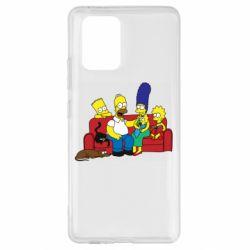 Чехол для Samsung S10 Lite Simpsons At Home