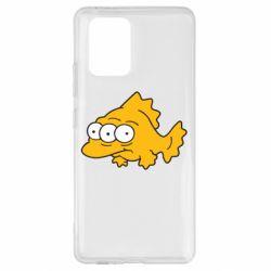 Чехол для Samsung S10 Lite Simpsons three eyed fish