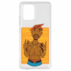 Чохол для Samsung S10 Singer Tupac Shakur