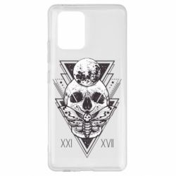 Чохол для Samsung S10 Skull with insect
