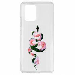 Чохол для Samsung S10 Snake and roses