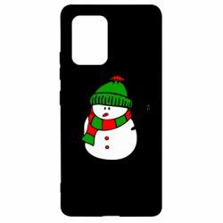 Чехол для Samsung S10 Lite Снеговик