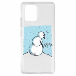 Чохол для Samsung S10 Lite Snowman. It's Cold!
