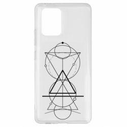 Чохол для Samsung S10 Сomposition of geometric shapes