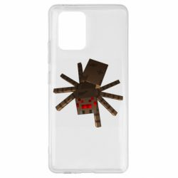 Чехол для Samsung S10 Lite Spider from Minecraft