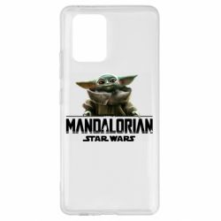 Чехол для Samsung S10 Lite Star Wars Yoda beby