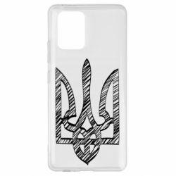 Чехол для Samsung S10 Lite Striped coat of arms