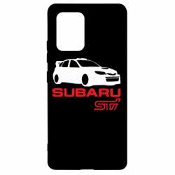 Чехол для Samsung S10 Lite Subaru STI