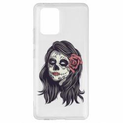 Чохол для Samsung S10 Sugar girl with a rose