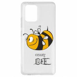 Чехол для Samsung S10 Lite Сумасшедшая пчелка