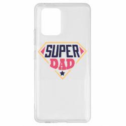 Чехол для Samsung S10 Lite Super dad text