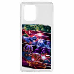 Чехол для Samsung S10 Lite Super power avengers