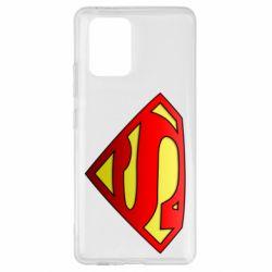 Чехол для Samsung S10 Lite Superman Logo
