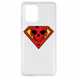 Чохол для Samsung S10 Superman Skull
