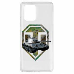 Чехол для Samsung S10 Lite Tank and WOT game logo