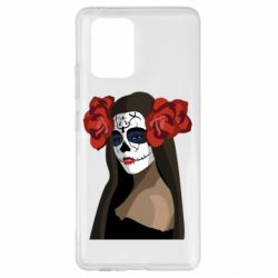 Чохол для Samsung S10 The girl in the image of the day of the dead