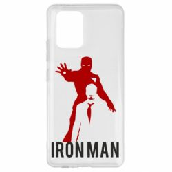 Чехол для Samsung S10 Lite The Invincible Iron Man