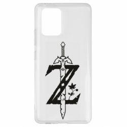 Чехол для Samsung S10 Lite The Legend of Zelda Logo
