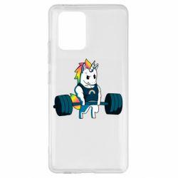 Чохол для Samsung S10 The unicorn is rocking
