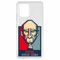 Чехол для Samsung S10 Lite Think Steve Jobs