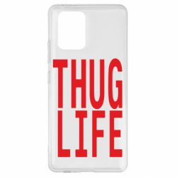 Чехол для Samsung S10 Lite thug life
