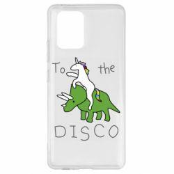 Чохол для Samsung S10 To the disco