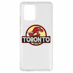 Чехол для Samsung S10 Lite Toronto raptors park