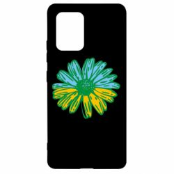 Чехол для Samsung S10 Lite Українська квітка