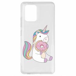 Чехол для Samsung S10 Lite Unicorn and cake