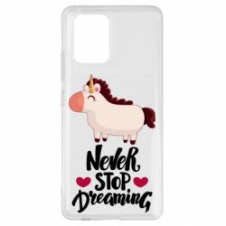 Чехол для Samsung S10 Lite Unicorn and dreams