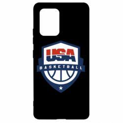 Чехол для Samsung S10 Lite USA basketball