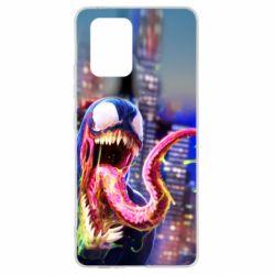 Чехол для Samsung S10 Lite Venom slime