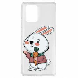 Чохол для Samsung S10 Winter bunny