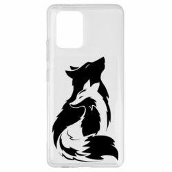 Чехол для Samsung S10 Lite Wolf And Fox