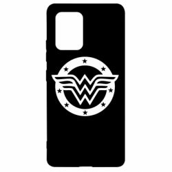 Чехол для Samsung S10 Lite Wonder woman logo and stars