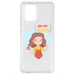 Чехол для Samsung S10 Lite You are super girl