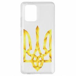 Чехол для Samsung S10 Lite Золотий герб