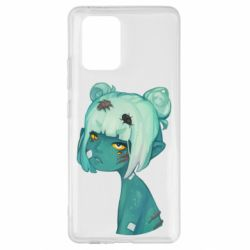 Чохол для Samsung S10 Zombie girl with beetles