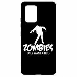 Чехол для Samsung S10 Lite Zombies only want a hug